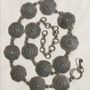 STAINLESS STEEL Vintage Women's Chain Belt ❤️